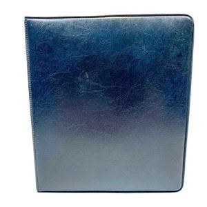 Franklin Covey Classic Open Binder Blue